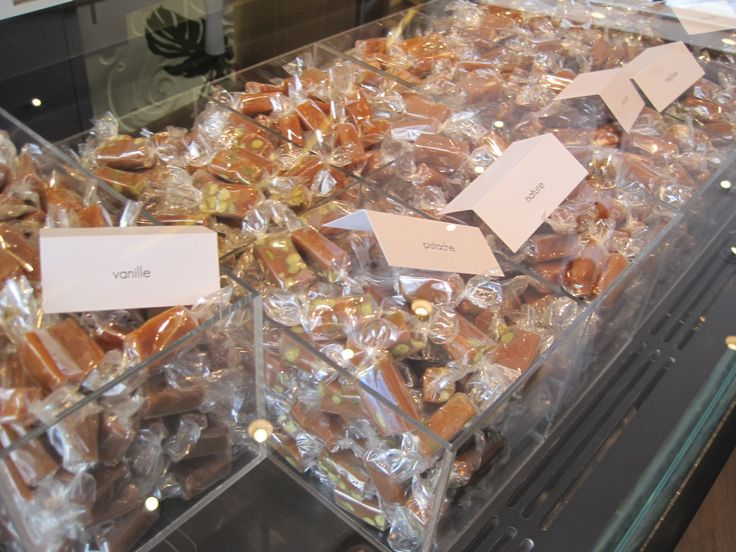 Jacques Genin's famous caramels. (Tasting these inspired a certain scene in THE CHOCOLATE TOUCH.)
