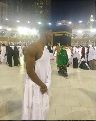 """Its the Ramadan period for the Muslim faithful and Paul Pogba a Muslim decided to start the fasting season by going to Mecca for the non-mandatory Umrah pilgrimage.  The Manchester United player took the trip to Saudi Arabia while other footballers are at their usual post-season hotspots like Las Vegas and Dubai.  Pogba shared the news of his journey on his Instagram account. He put up a video of him leaving his Manchester apartment with a suitcase. He added the caption:  """"On my way to go…"""