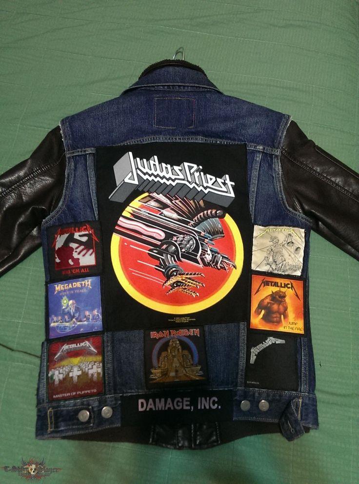 Update On My Jacket   TShirtSlayer TShirt and BattleJacket Gallery