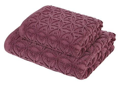 ASDA Towel Range - Mauve Origami | Design Towels | ASDA direct