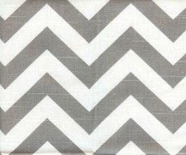 gray chevron fabric $15