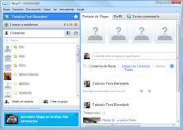 Pagina Skype