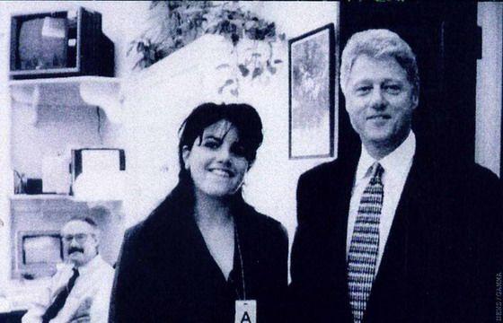Моника Левински взрывает новую бомбу под Клинтоном.(ФОТО).