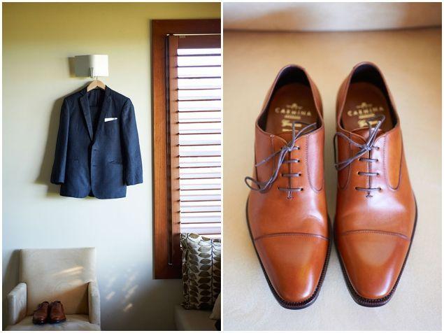 stylish groom's attire | Nikole Ramsay Photography