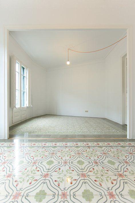 Apartment Renovation in Eixample , Barcelona, 2014 - Eva Cotman