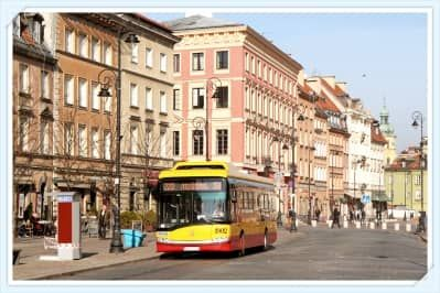 The capital of Poland, like other cities in Europe, has extensive transport network with more than 1500 buses, 400 trams, 40 underground trains and 20 city trains which they run daily connecting suburbs and the city centre.