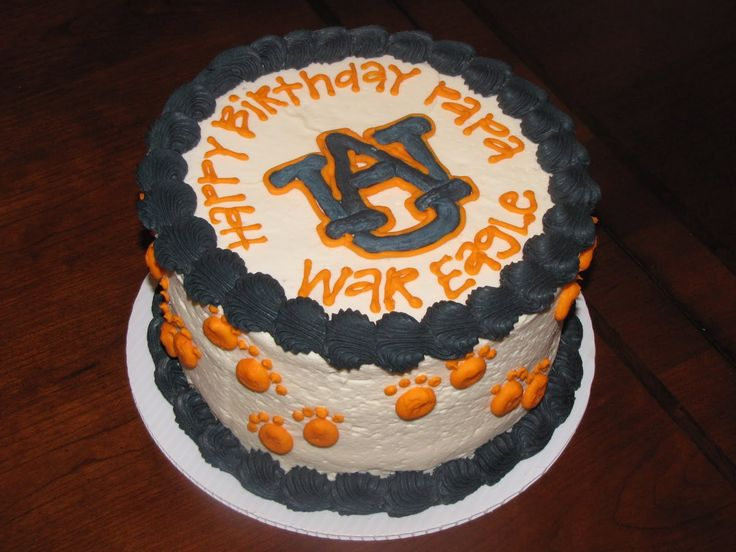 auburn birthday cake - Google Search