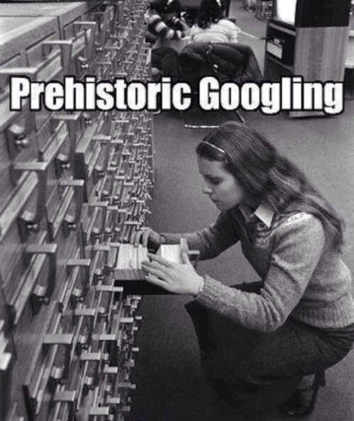 Google #googling #google #oldstyle #prehistoric