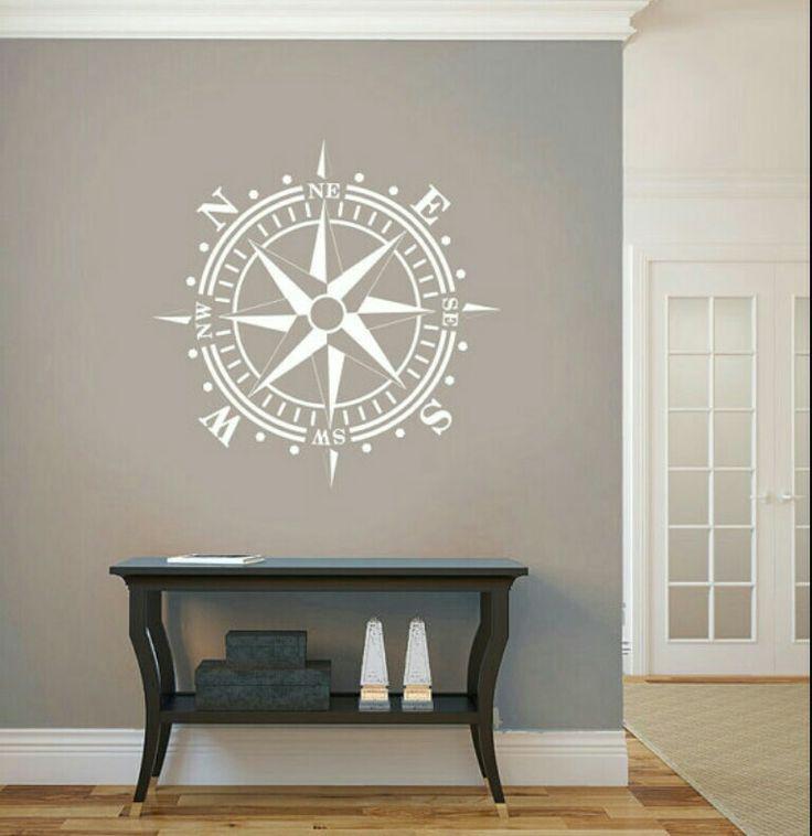 Compass Rose Wall Art