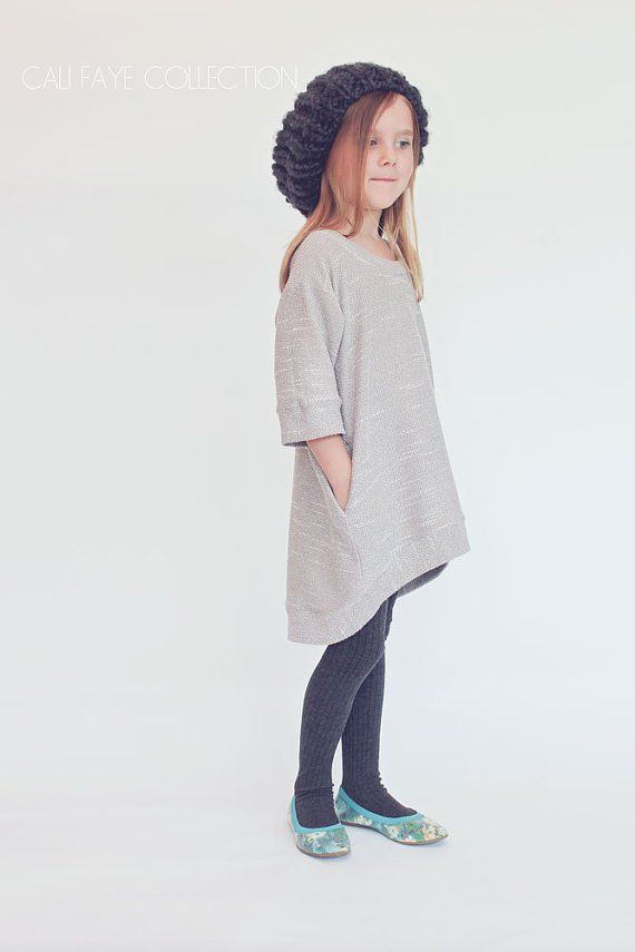 Cute kids tunic dress sewing pattern! If you love making things for kids and baby, check out http://www.sewinlove.com.au/category/kids/