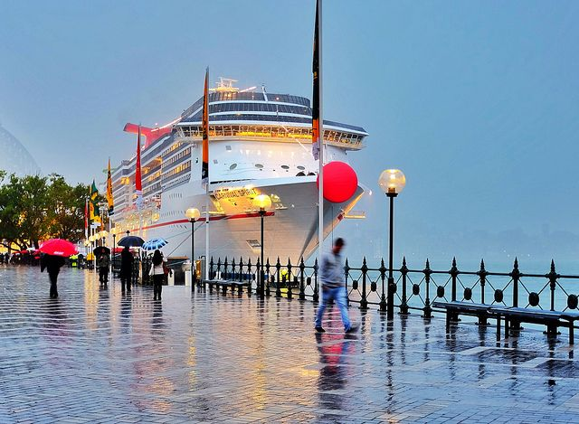 Carnival Spirit in Sydney Harbour