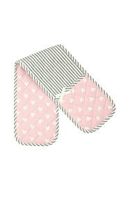 CANDY HEART 100% COTTON DOUBLE OVEN GLOVE