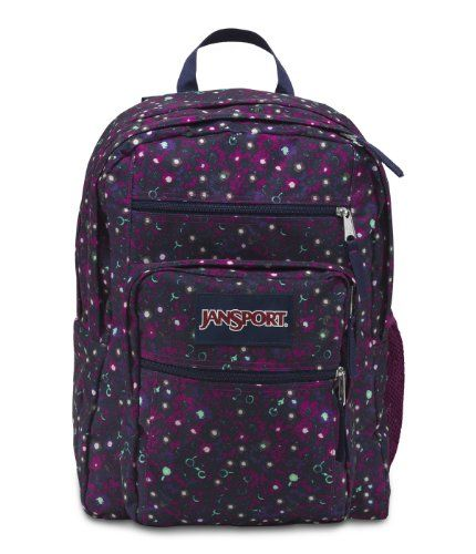JanSport Big Student Backpack, Berrylicious Ditzy Daisy JanSport,http://www.amazon.com/dp/B00CAAKGK2/ref=cm_sw_r_pi_dp_TcTBtb03Z70T76Z2 #jansport #purple #backpack #orlandotrend