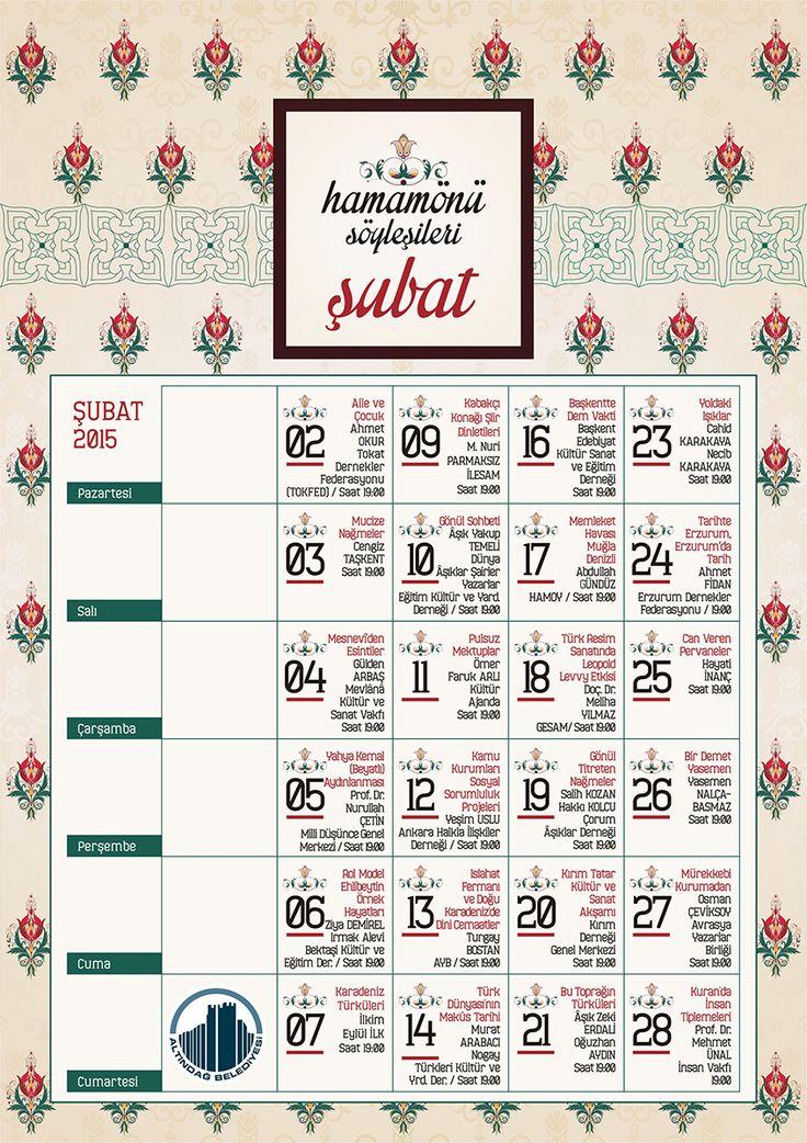 Şubat ayında yine Hamamönü'ndeyiz.