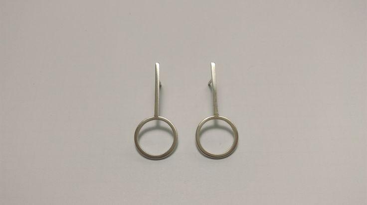 Cherry earrings www.cajun.ro #oanagalmati, #silver, #streetstyle, #jewellery, #fashion, #earrings, #minimalism