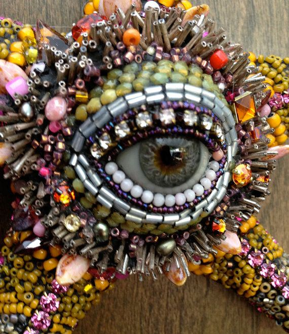 Sea Flower with Eye by betsyyoungquist on Etsy