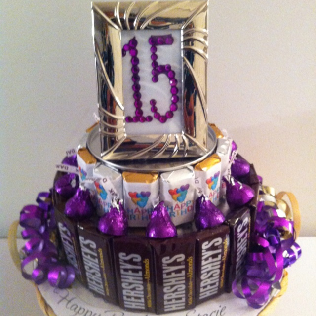 All About Purple Candy Cake