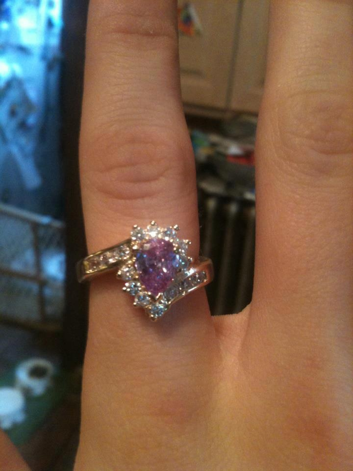 Diamond Candle Ring - Maddy Graupmann