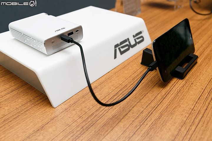 ASUS has unveiled its latest technology in the form of a portable projector called E1Z Projector. This pocket-sized projector is the world's first LED projector designed to project android smartphone content like videos, images and presentation via micro USB port.