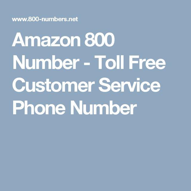 Amazon Phone Number - Customer Service - 800  Phone numbers, Customer service, Phone