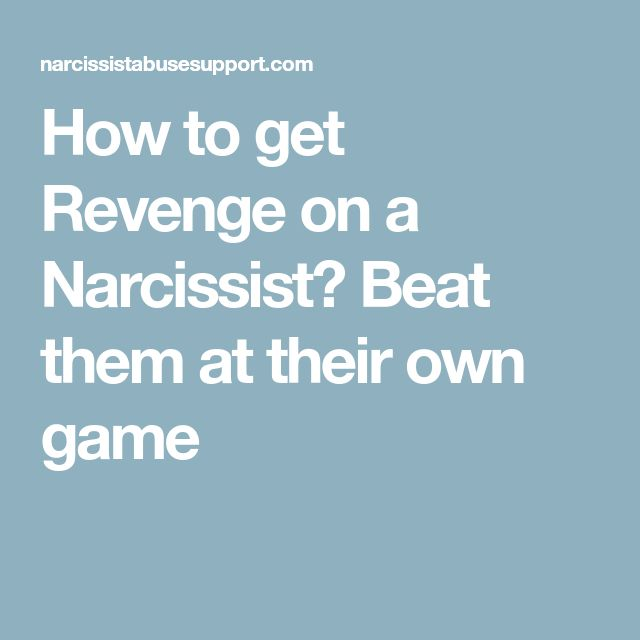 how to beat a narcissist