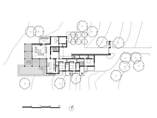 San Lorenzo House,Ground Floor Plan