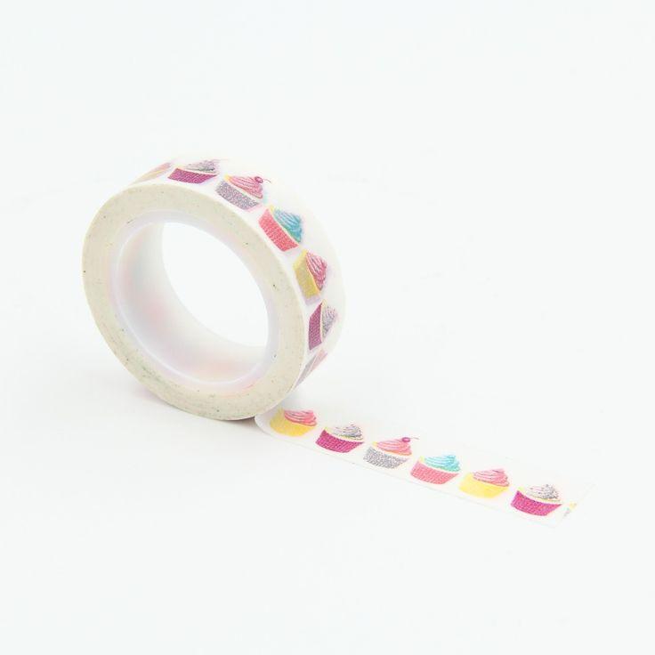 Bolo de sorvete fita adesiva Washi DIY fita de embrulho adesivo adesivos decorativos favores do partido em Fita adesiva de Escritório & material escolar no AliExpress.com | Alibaba Group