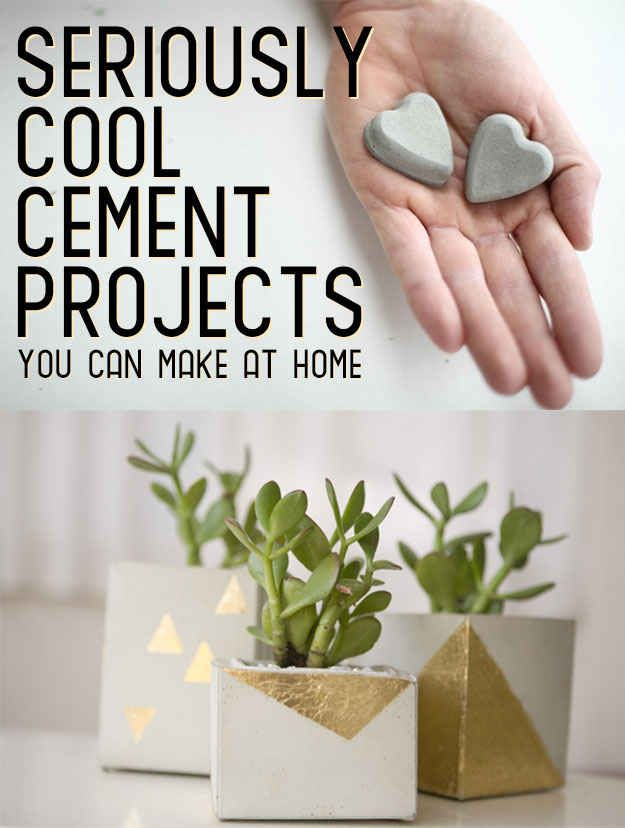 22 Seriously Cool Cement Projects You Can Make At Home - BuzzFeed Mobile