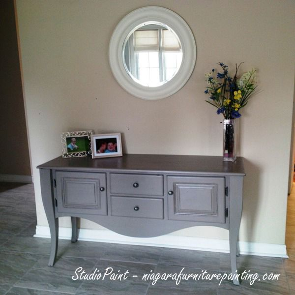 "French Linen Console ""Lesley"" - Studio Paint 