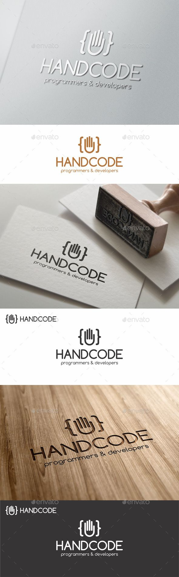 Hand Code Studio Multi Purpose Programming Logo – Simple and Unique Logo for Programmers and related business. Logo template that suitable for builders custom websites, code developers, for designers and programmers that created awesome website templates and wordpress themes, for design agencies, programmers, web developers, software and applications, websites and blogs, media business, or anything related to computer and digital.
