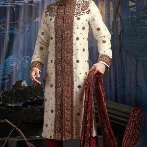 Latest Sherwani Designs For Men Wedding