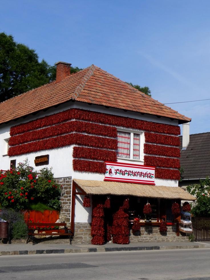 Paprika House in Tihany, Hungary