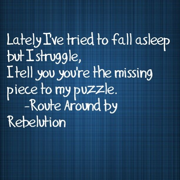 Route Around by Rebelution, Meaningful Lyrics