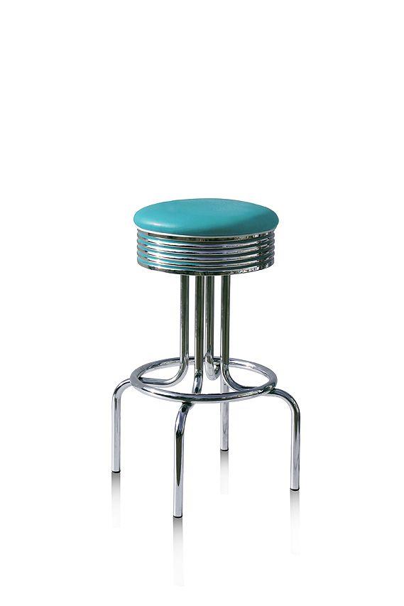 #sgabelli #barstools BS-28 Tuquoise H: 109 cm / H: 77 cm