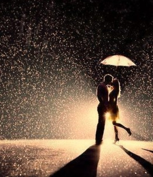 Not sure I'd like being in the rain, but if we could Photoshop this?