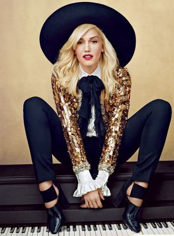 #TBT: The Evolution of Gwen Stefani's SoCal Beauty, from Punk to Polished – Vogue - 2013