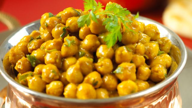 Chick Pea Curry | Eating Healthy | Pinterest