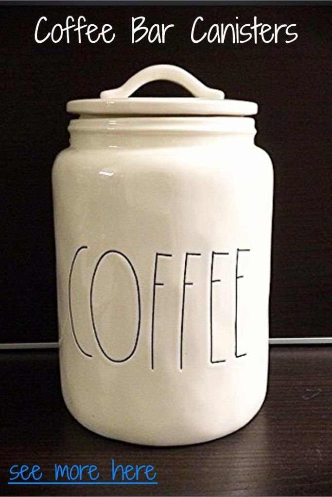 Coffee Bar Ideas For Kitchen Diy Canister