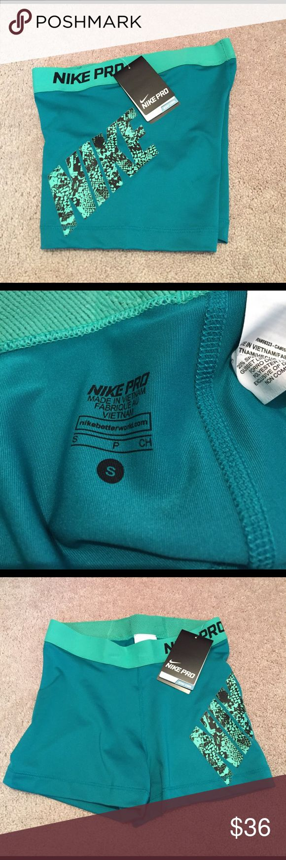 NWT size small Nike pro spandex New with tags size small Nike pro dri-fit spandex shorts. Nike Shorts