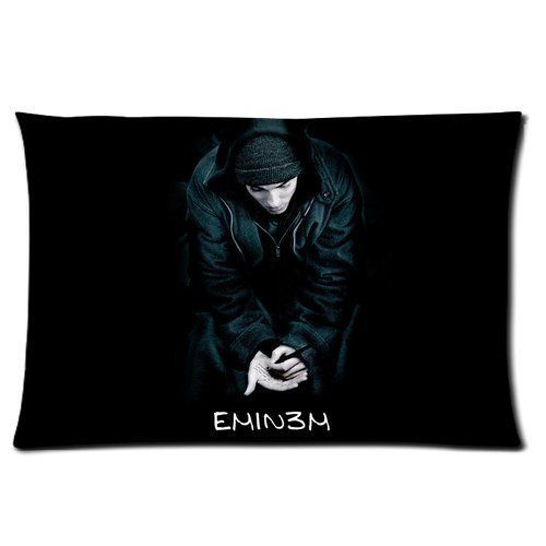 8 Miles Poster Eminem Slim Shady Rap God Best Rapper Grammy Award Personalized Rectangle Pillow Case 24x16 (one side) *** Don't get left behind, see this great  product : DIY : Do It Yourself Today