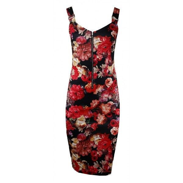 Kara Blooming Floral Dress
