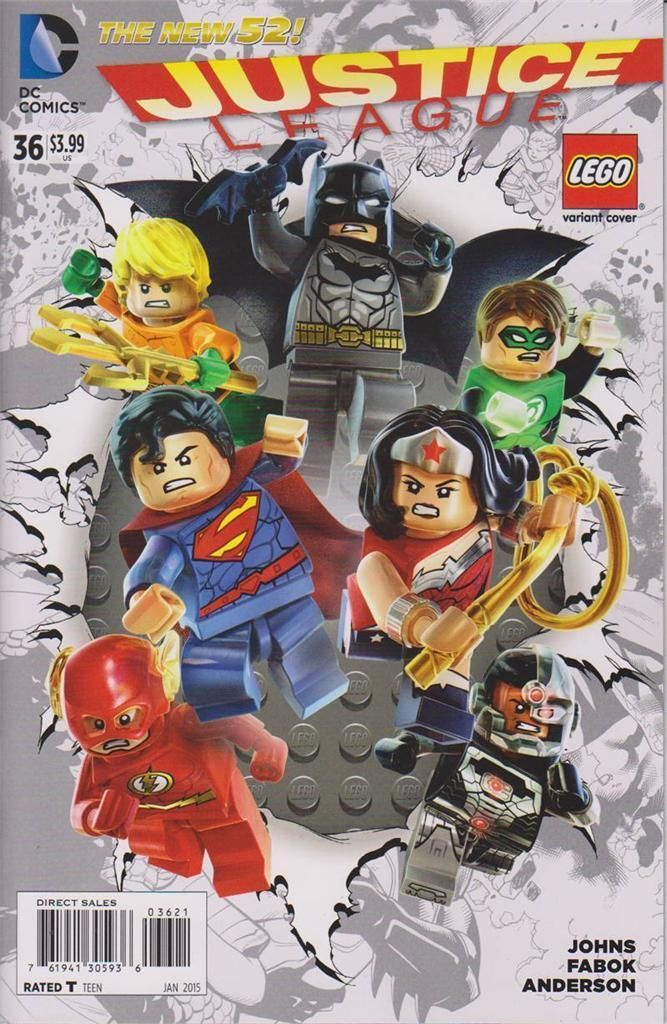 19 best Lego Variant Covers - DC Comics images on Pinterest | Comic ...