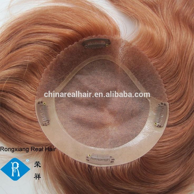 Hot selling natural real human hair toupee hair for men