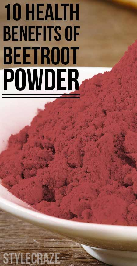 10 Amazing Health Benefits Of Beetroot Powder