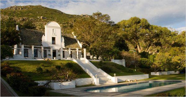 Cape Dutch Homestead, Cape Town, South Africa