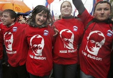 Russia's move toward a fascist state, part 2: The Nashi   Rolling Hot