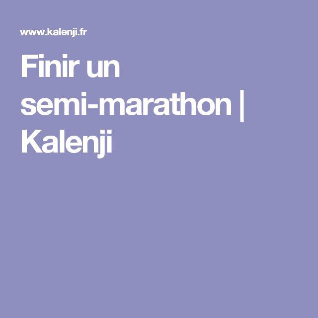 Finir un semi-marathon   Kalenji