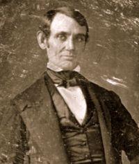 Abraham Lincoln in 1847. #abrahamlincoln  #civilwar