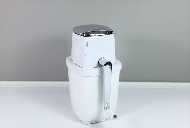 Broyeur à glace vintage Swing-A-Way - Broyeur à glaçons vintage - Machine à glace pilée rétro by Decadisme on Etsy