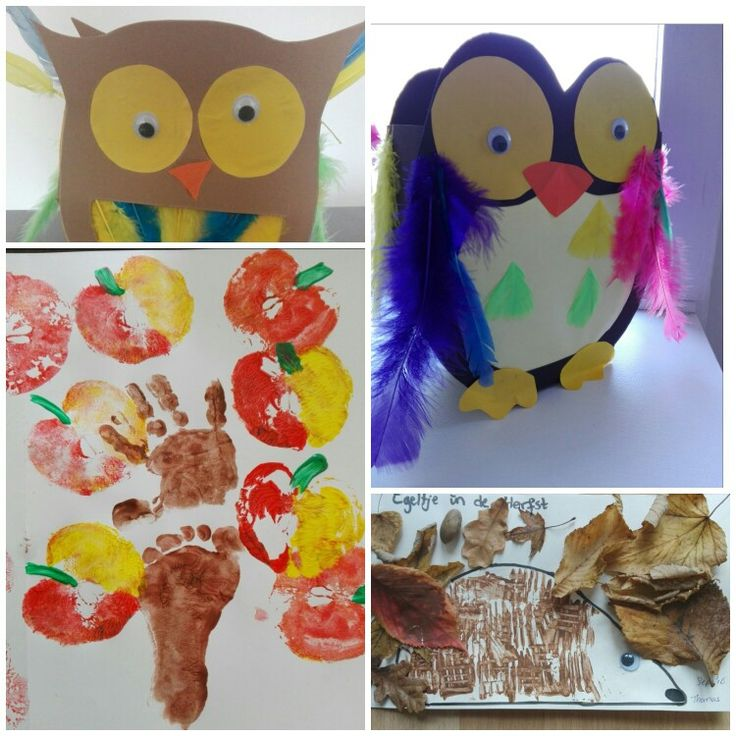 Autumn crafts & owl lanterns.